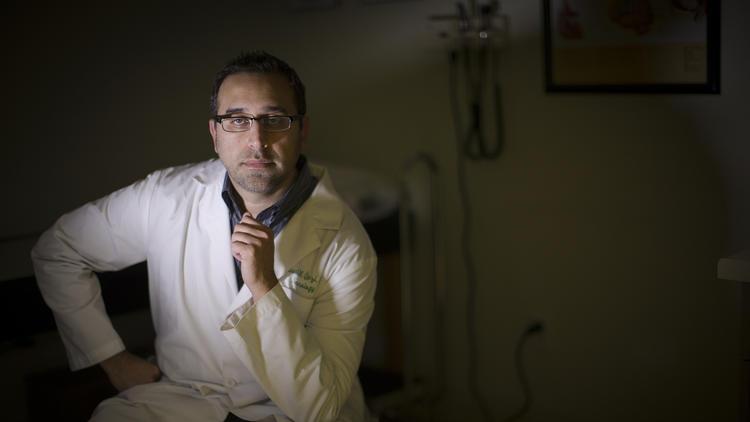 Faisal Qazi (Gina Ferazzi / Los Angeles Times)