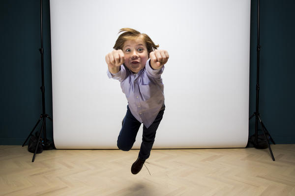 Jacob Tremblay, nominated for his supporting role in