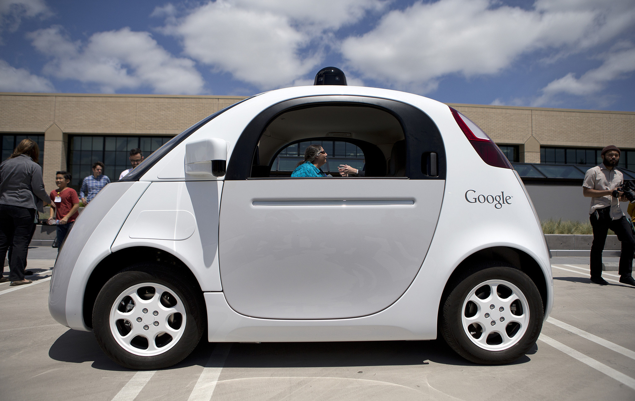 Look, no hands! I'm in Google's driverless car (and it could be finding its way to YOUR street)