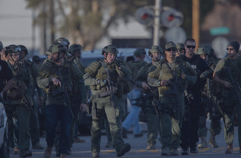 Listen to the police calls from the San Bernardino shooting