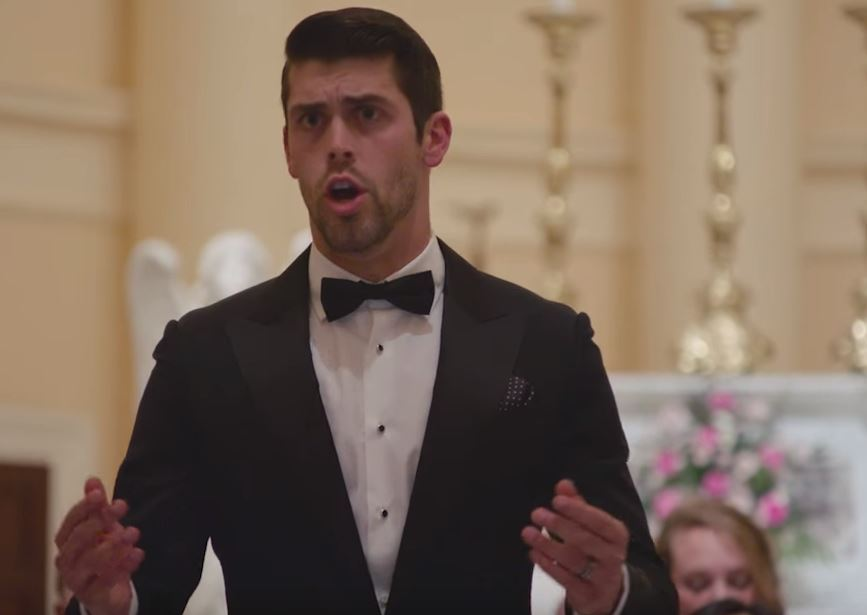 a3da64d09 Justin Tucker sings Ave Maria at Christmas charity concert - Baltimore Sun