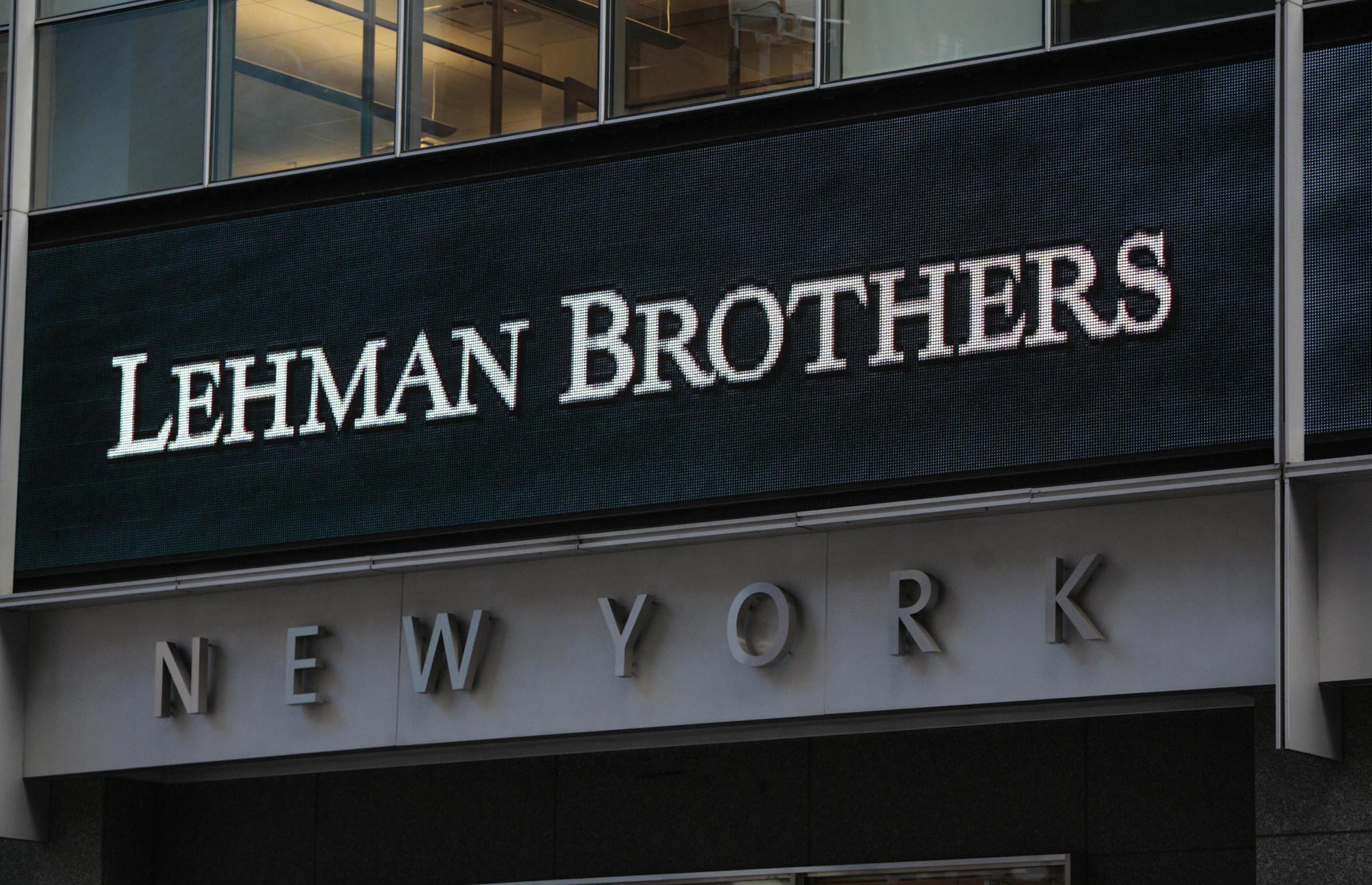 Resultado de imagen de lehman brothers