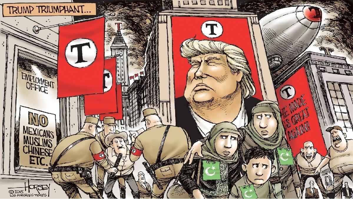 Image result for trump fascism