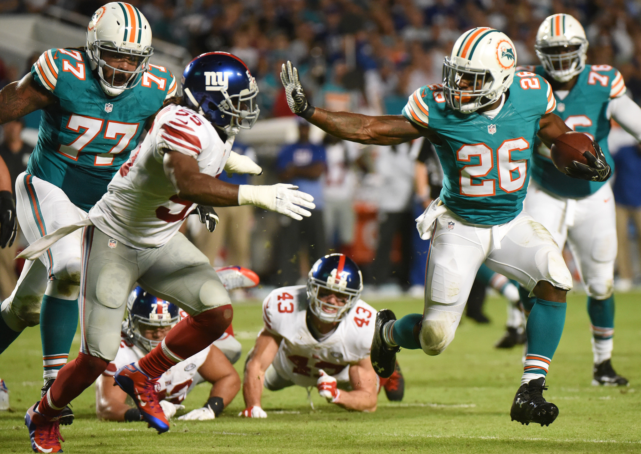 Flashback to the last time the Dolphins wore their ...