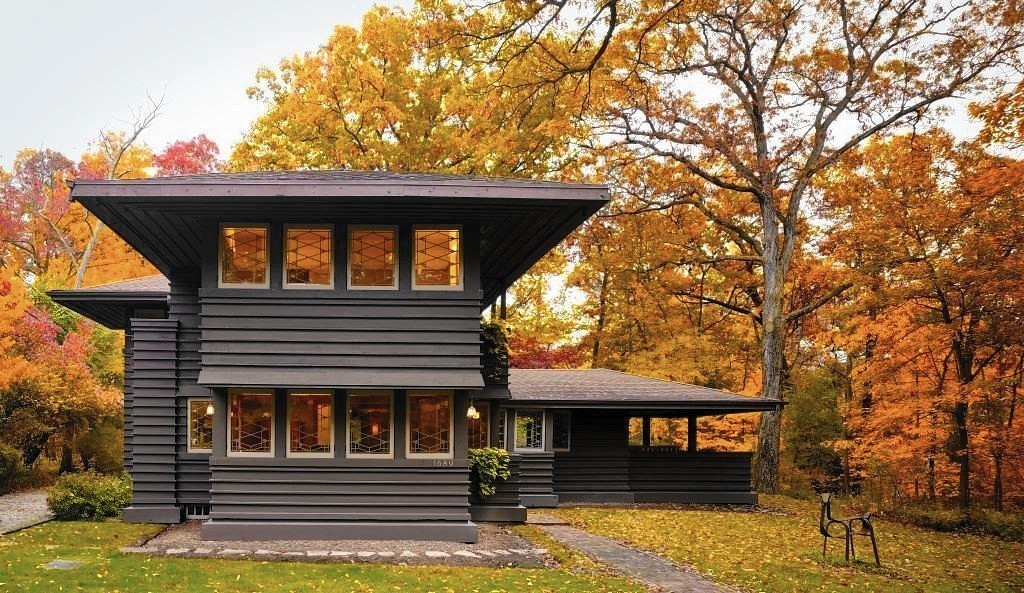 Frank Lloyd Wright Chicago Map.Frank Lloyd Wright House In Highland Park Sells For 687 500