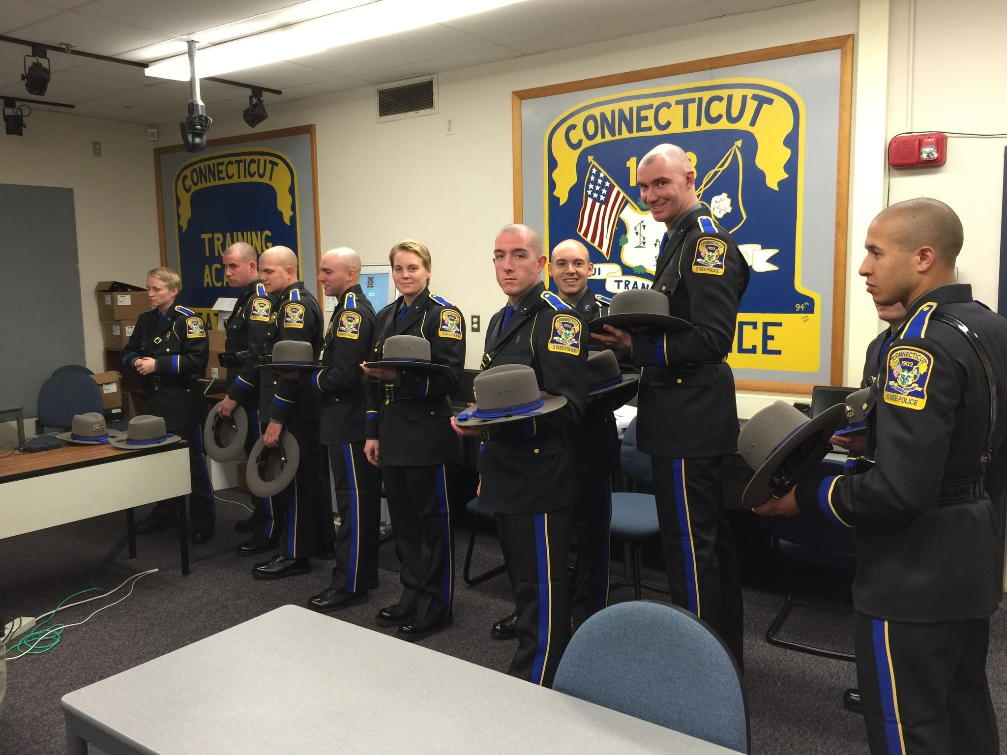 58 New State Police Troopers To Graduate - Hartford Courant