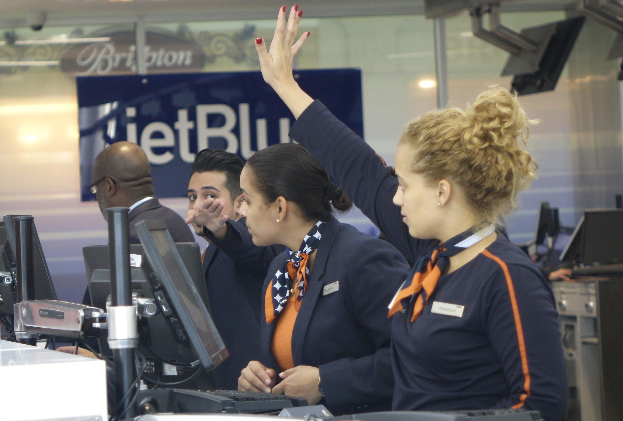 Jetblue Airways Eases Check In At Fort Lauderdale Airport