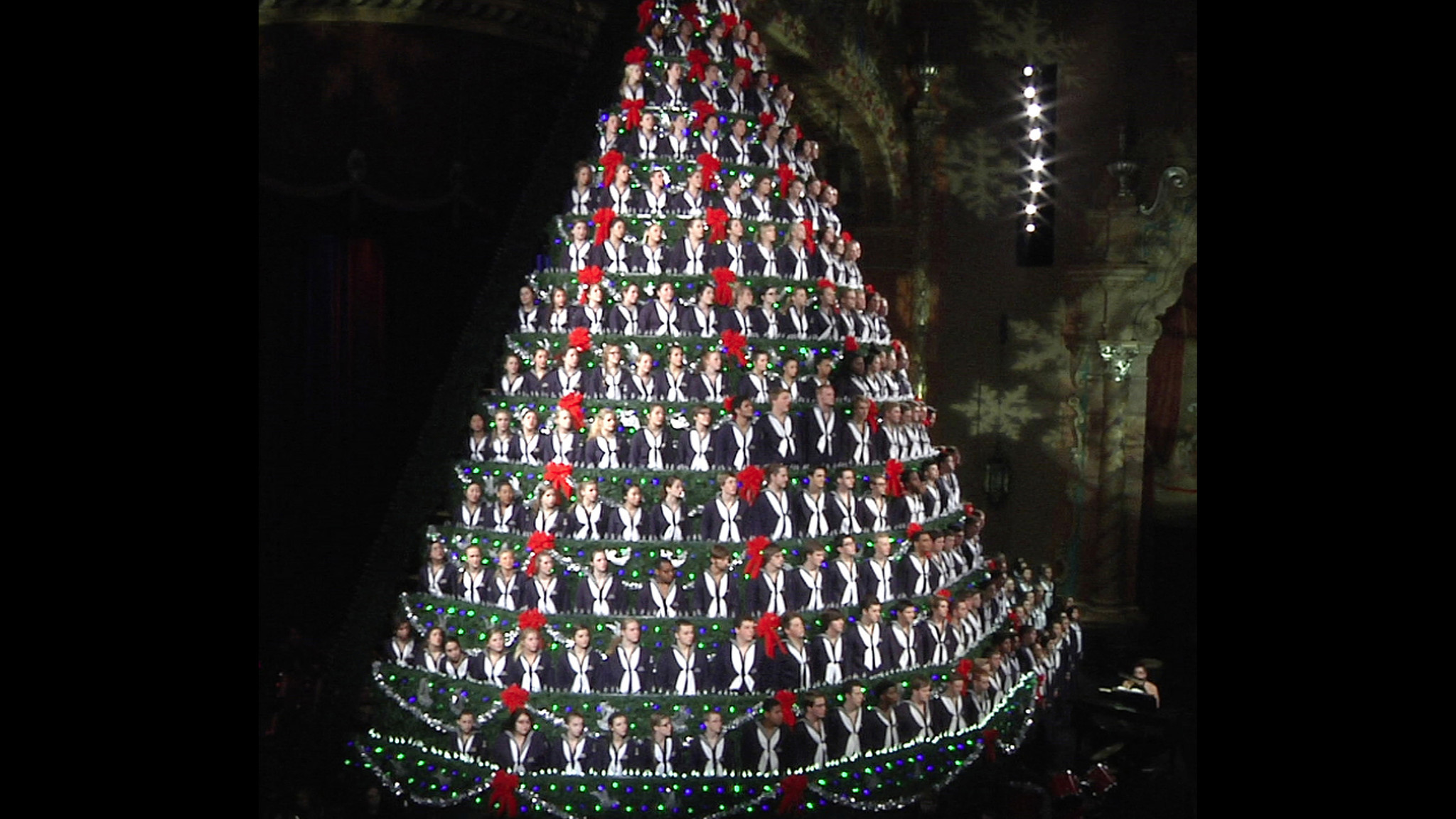 Christmas Trees Made Of Beer Kegs? And People? Photos Of