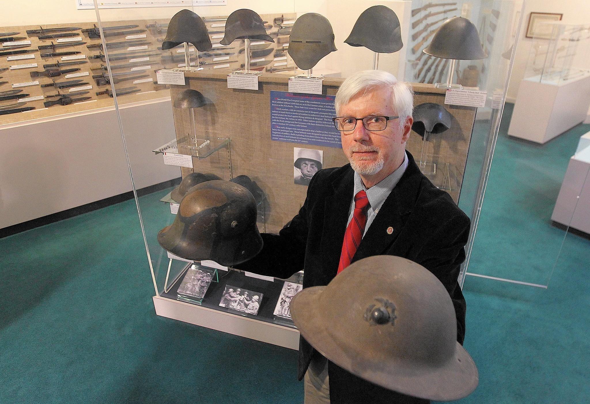 War Museum exhibit explores the development of the helmet in WWI