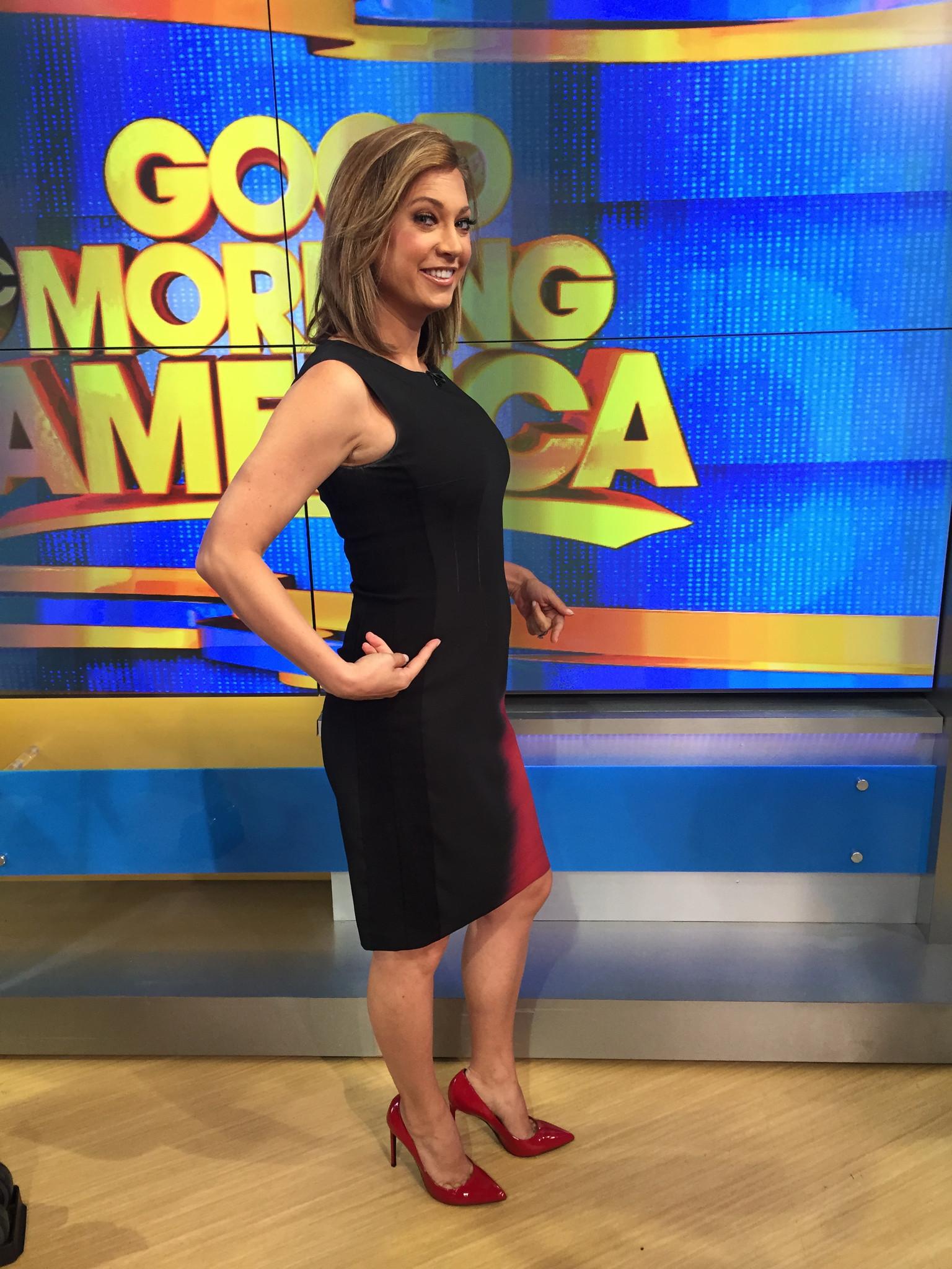'Good Morning America' meteorologist Ginger Zee gives