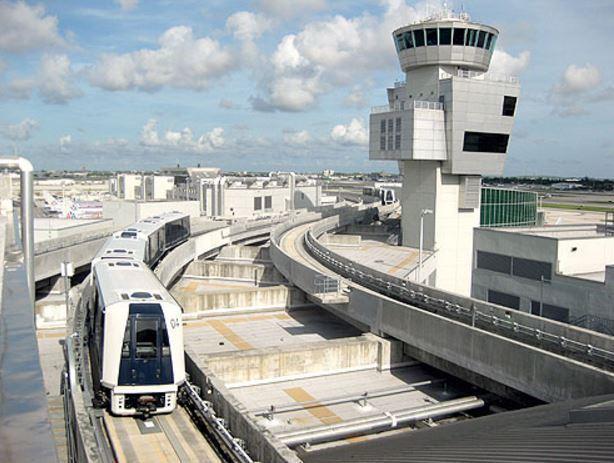skytrain cars derail at miami international airport - sun
