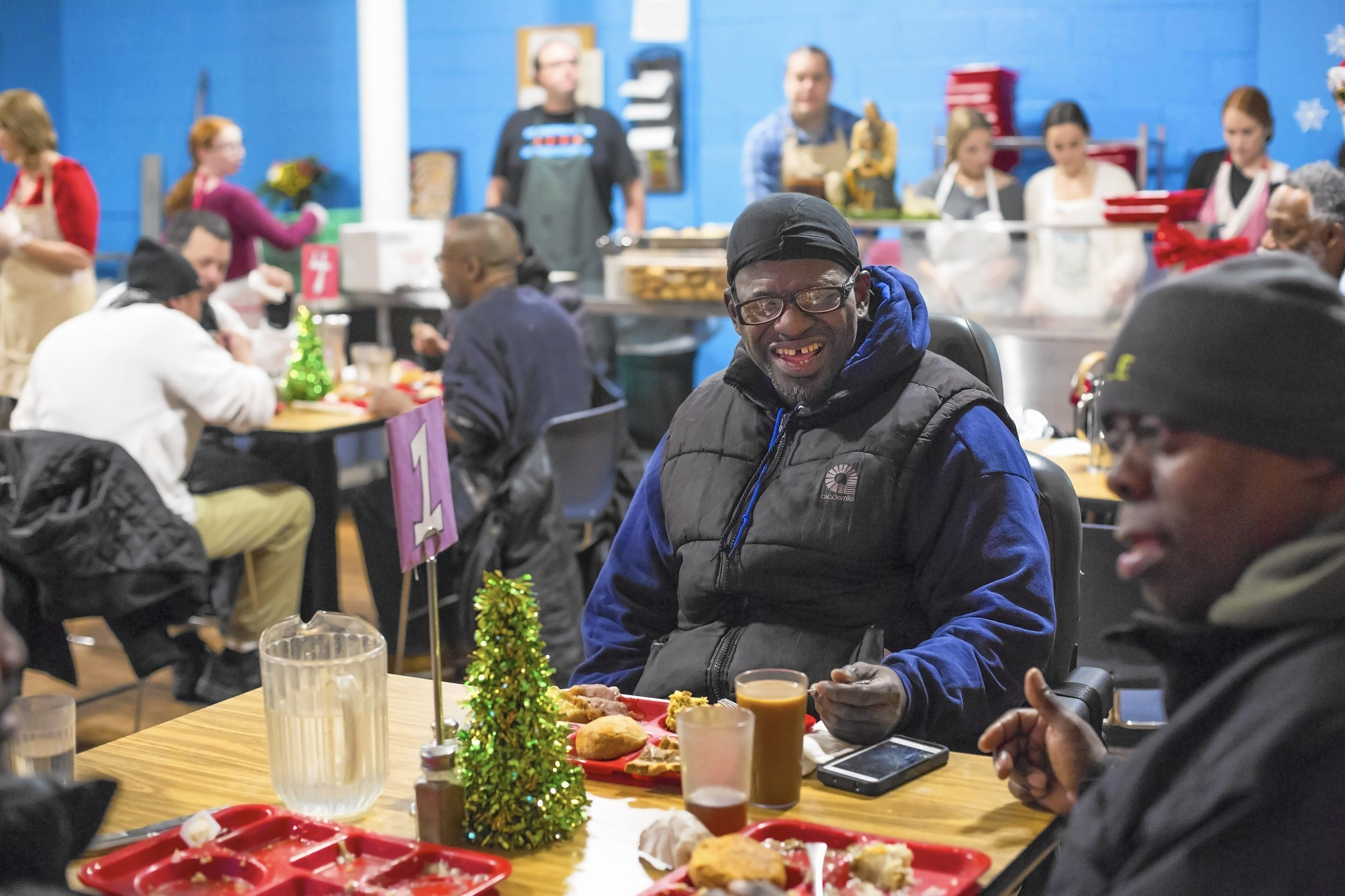 Christmas Day Soup Kitchen Volunteers Chicago