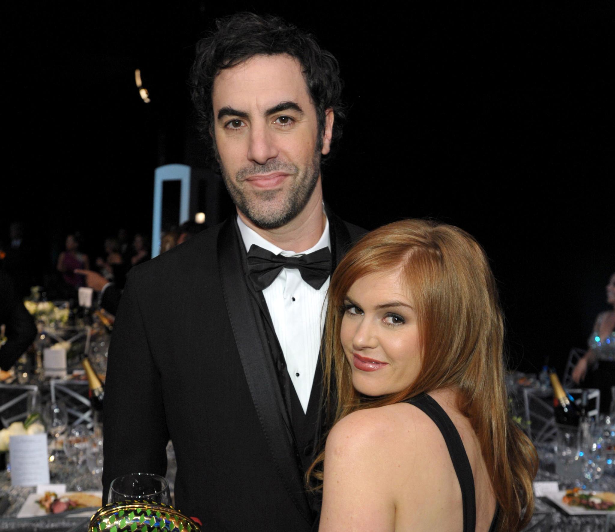 'Borat' actor Sacha Baron Cohen, wife fund help for Syria ...Sacha Baron Cohen Wife