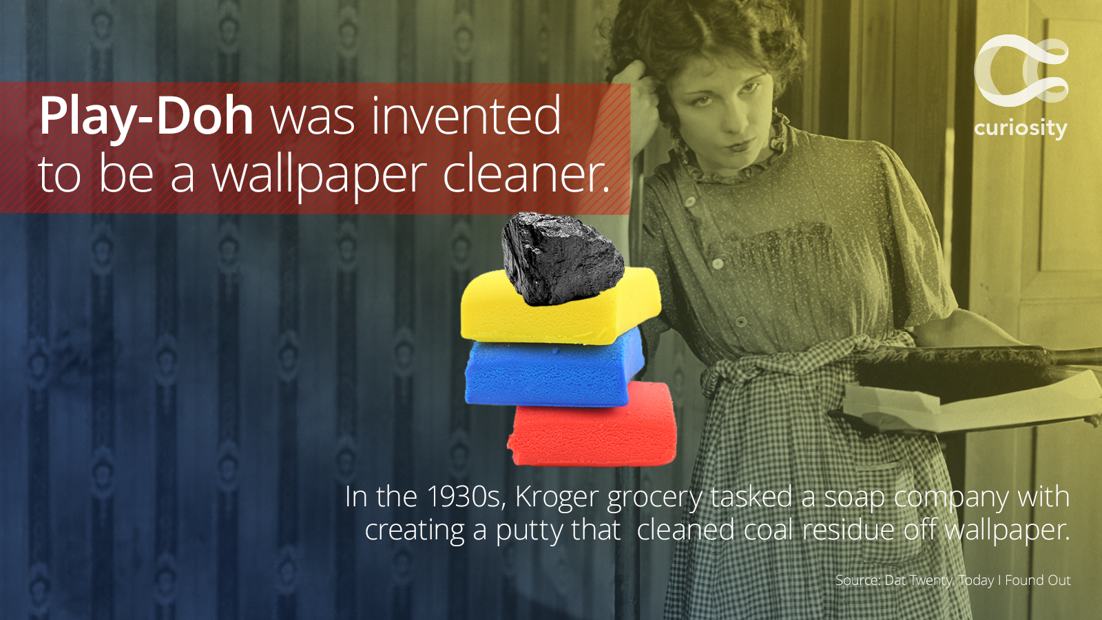 Play Doh Was Originally Supposed To Clean Your Walls Redeye Chicago