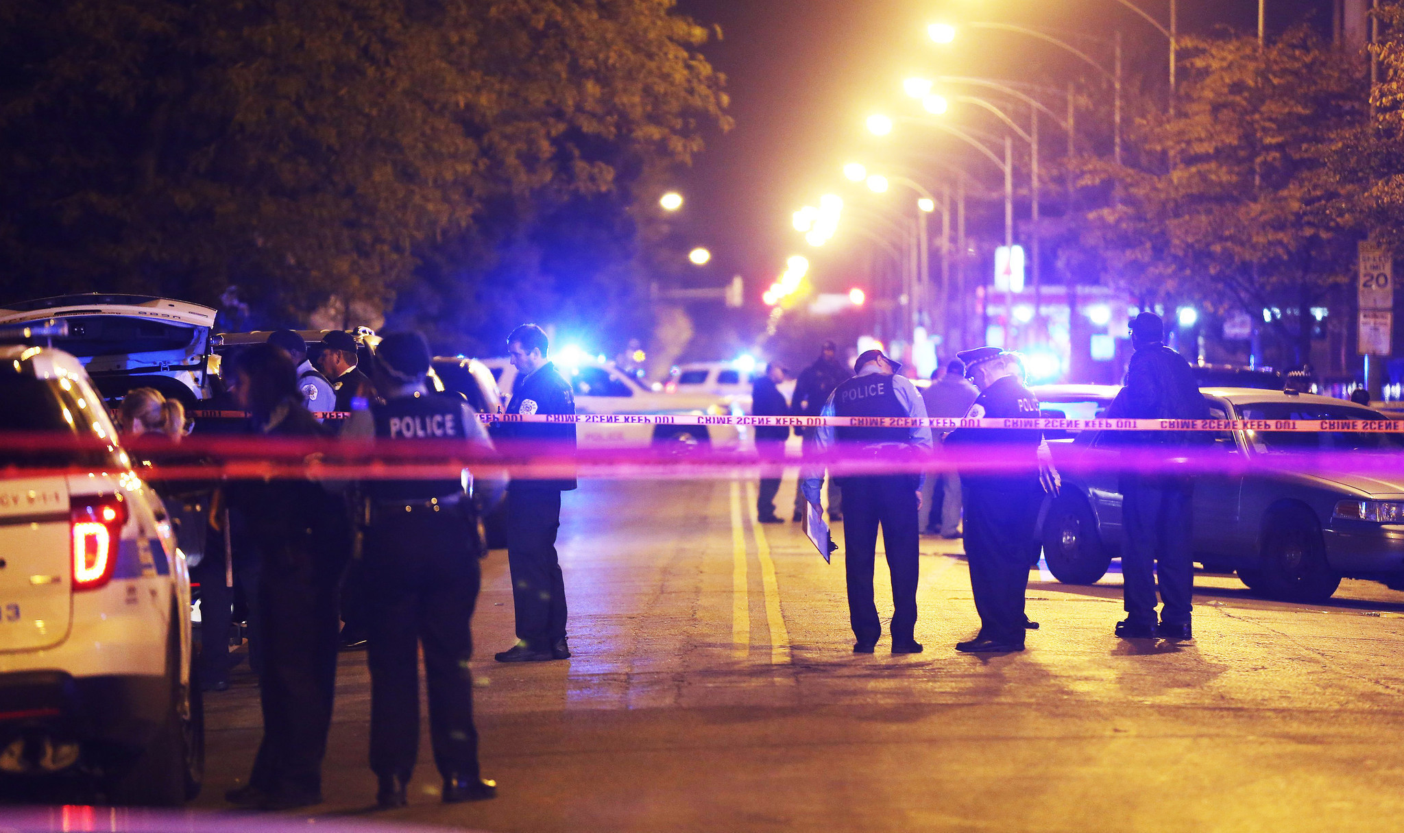 Chicago Police Shot Fewer People In 2015 Chicago Tribune