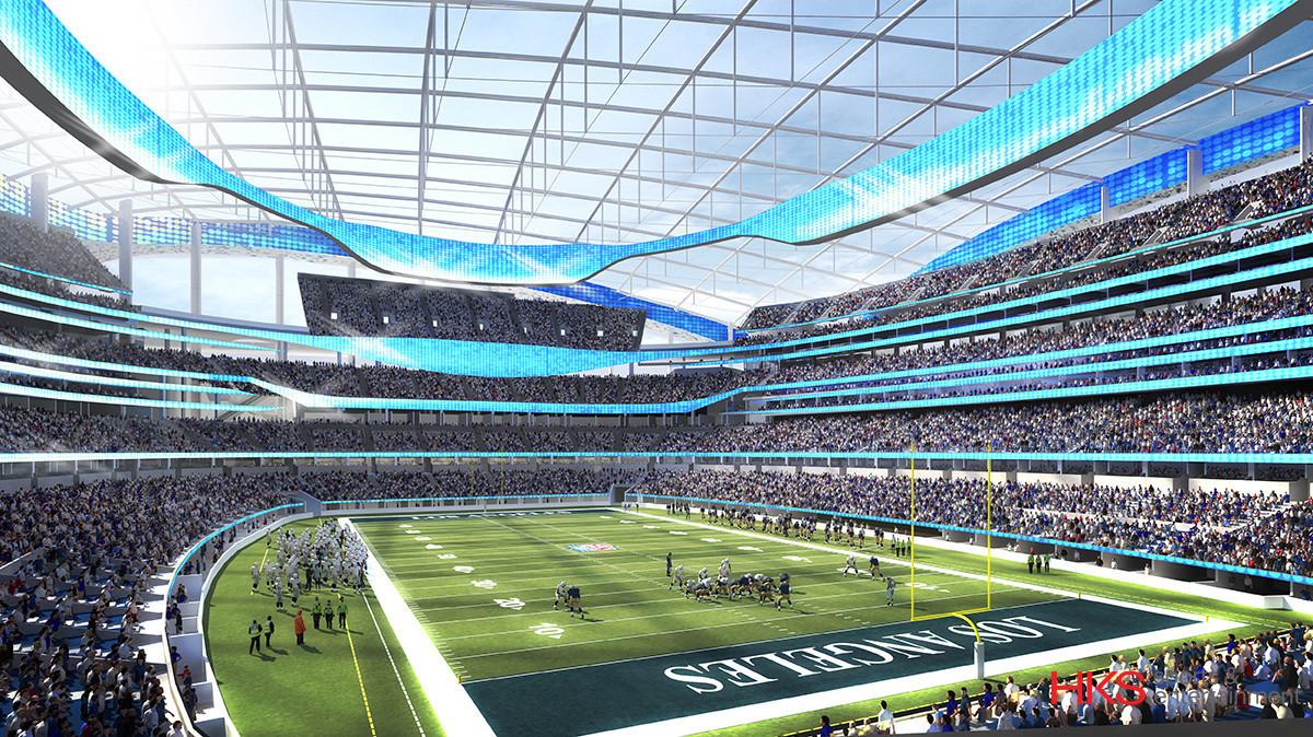 Renderings Nfl Stadium Proposals For Los Angeles La Times