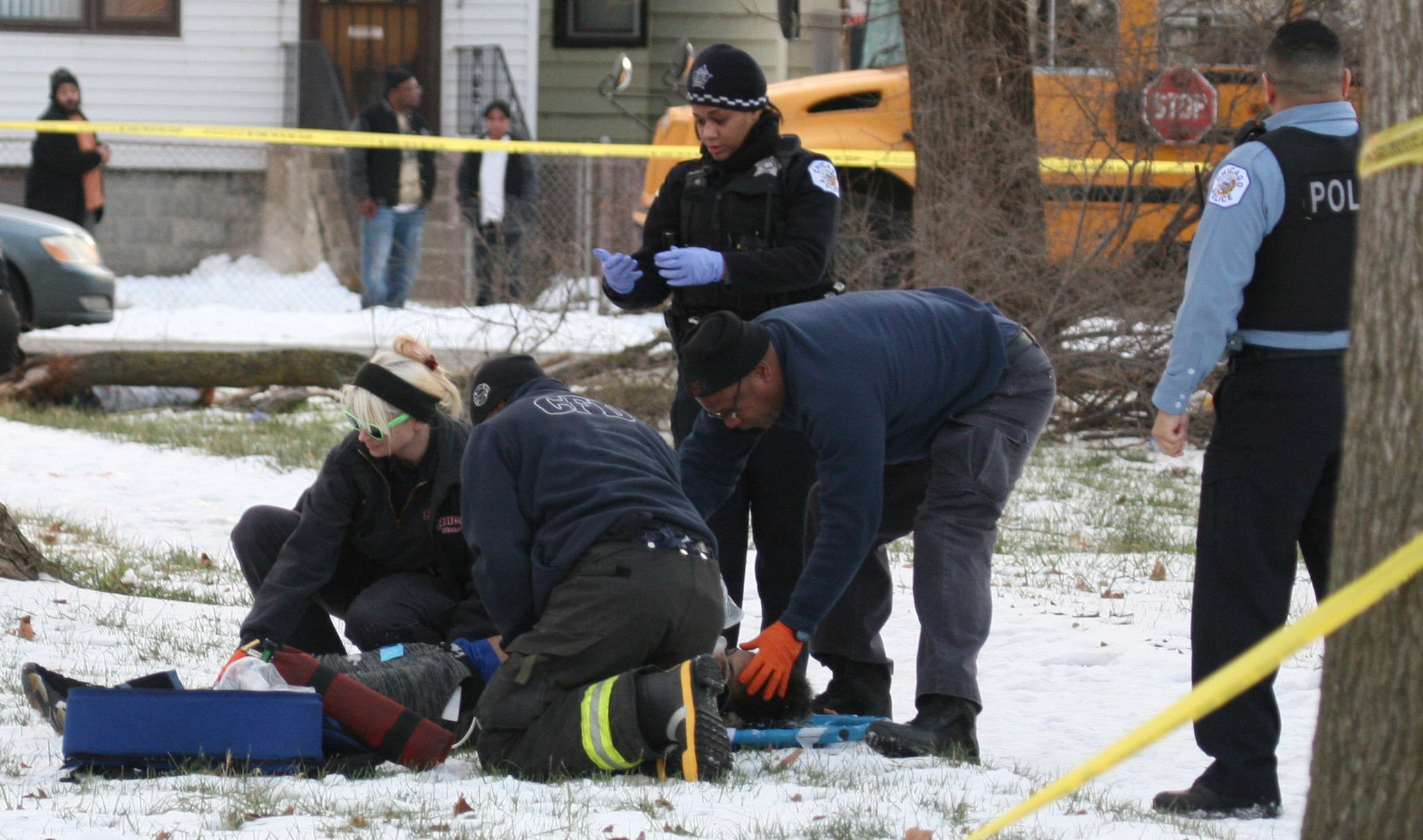 2 teens killed, 1 wounded in drive-by shooting: 'They just ...