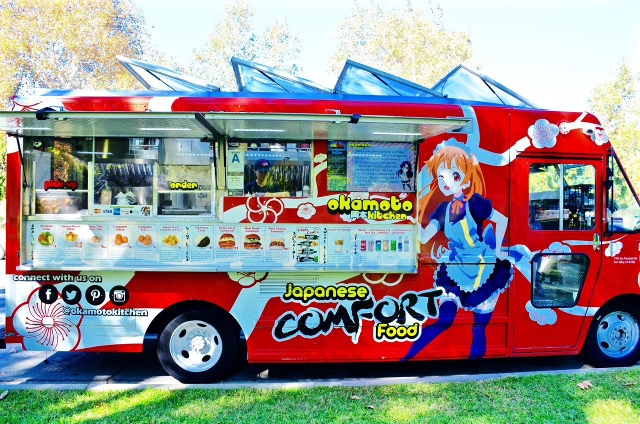 Okamoto Kitchen Food Truck Menu
