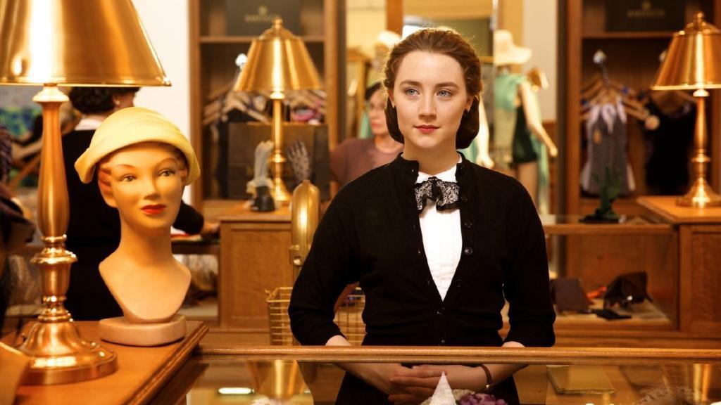 """Lead actress Oscar nominee Saorise Ronan appears in a scene from """"Brooklyn."""" (Fox Searchlight)"""