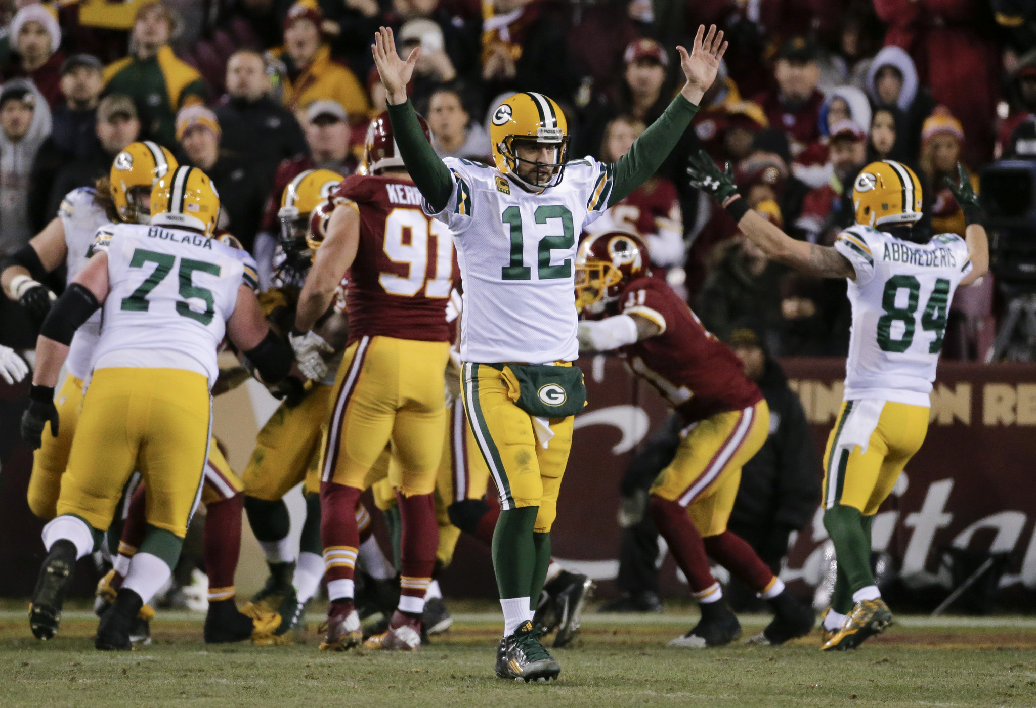Packers pull away from Redskins 35-18 853857e9e