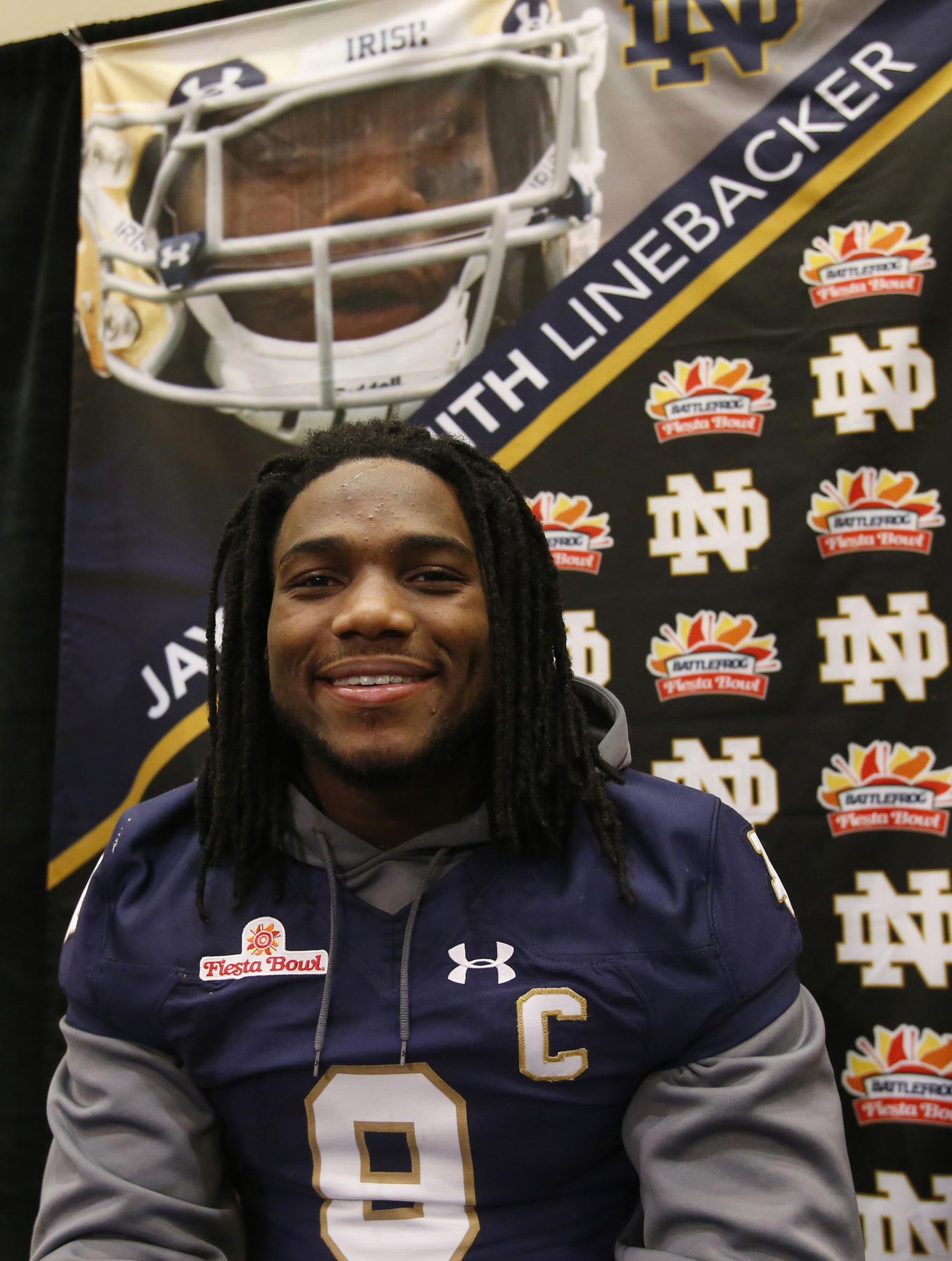 Notre Dame's Jaylon Smith opts for NFL draft - Chicago Tribune