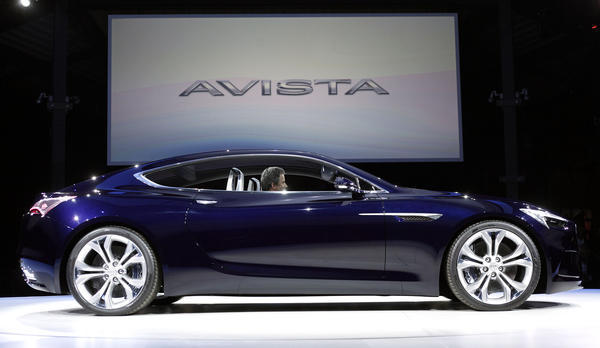 Buick stuns auto world with Avista sports coupe concept - Chicago Tribune