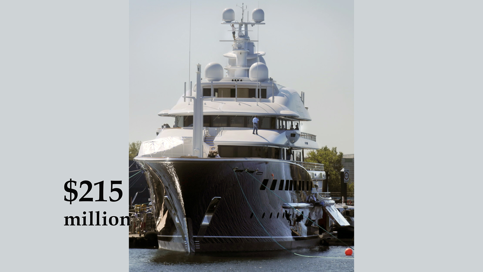 Photo of Cakewalk V, the largest yacht built in the US since