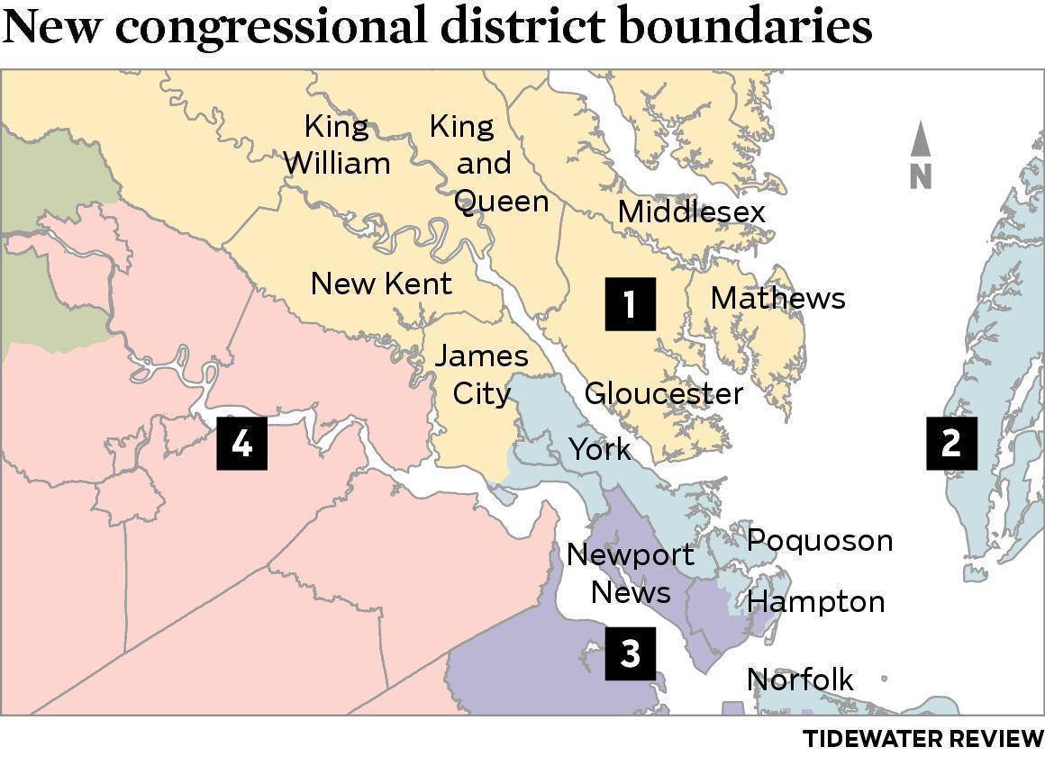 New Kent Congressional Districts May Change With New Maps