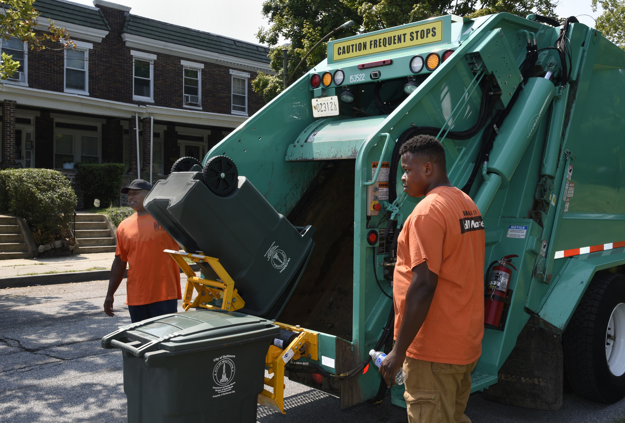Baltimore City To Let Residents Pick Small Or Large Trash