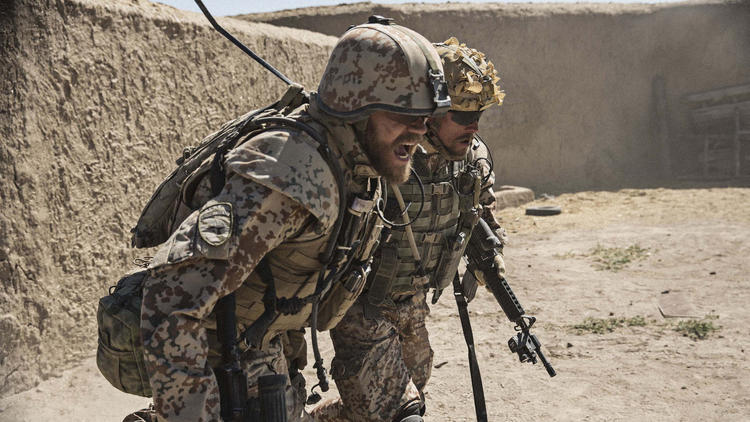 """In the Danish film """"A War,"""" director Tobias Lindholm traces the nation's involvement in Afghanistan through the ordeal of a commander charged with war crimes. (Magnolia Pictures) None"""