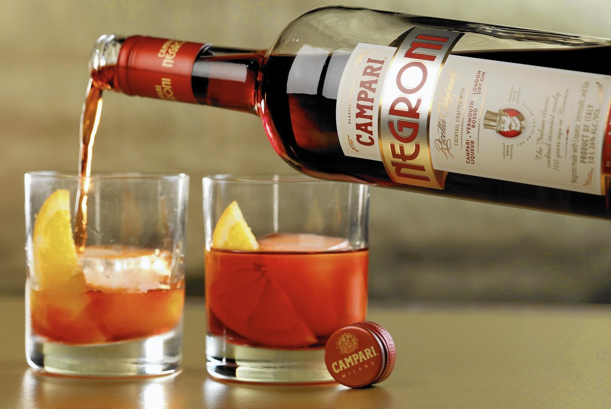 Negroni alcohol