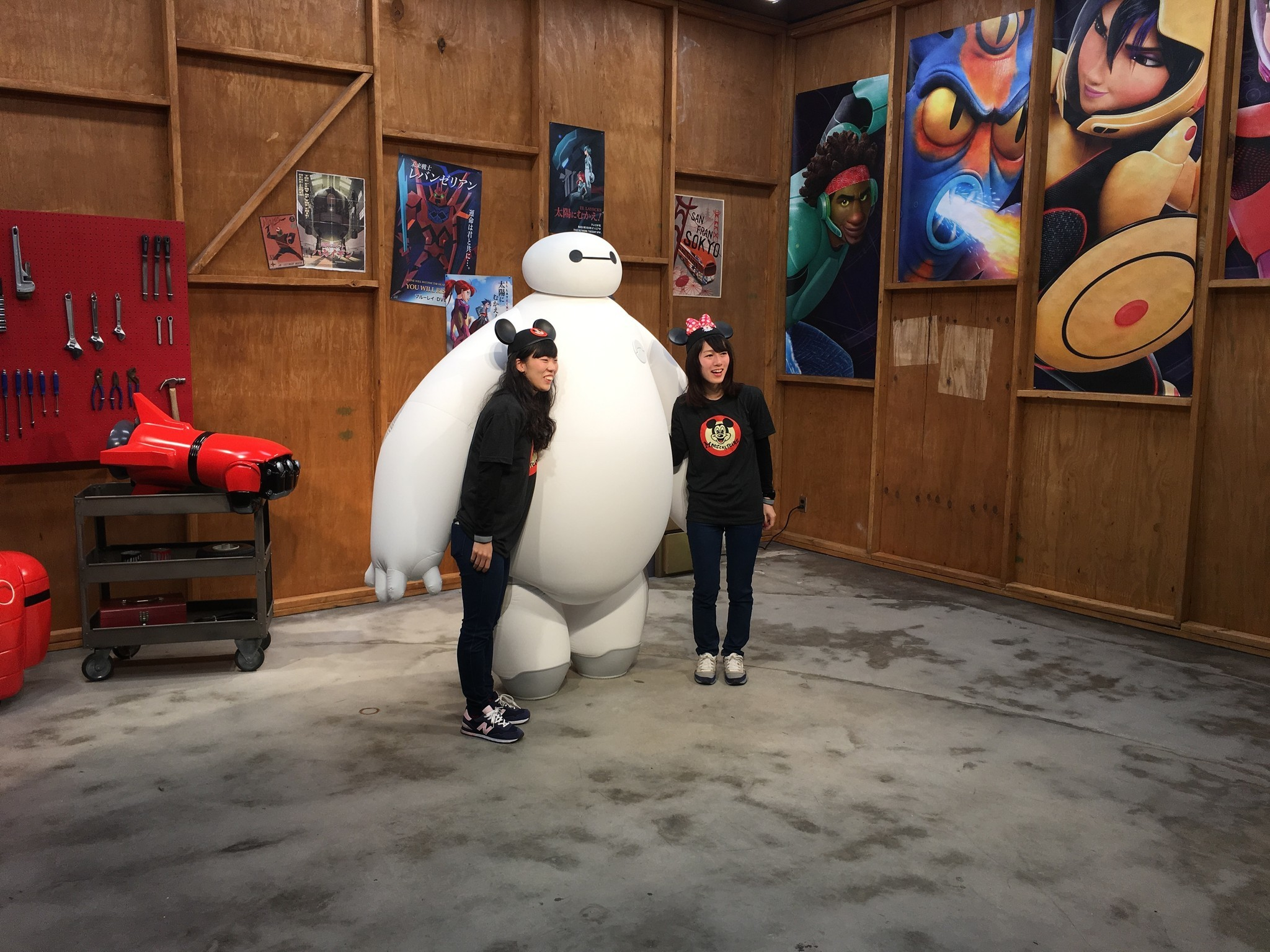 Disney baymax meets greets epcot guests orlando sentinel m4hsunfo