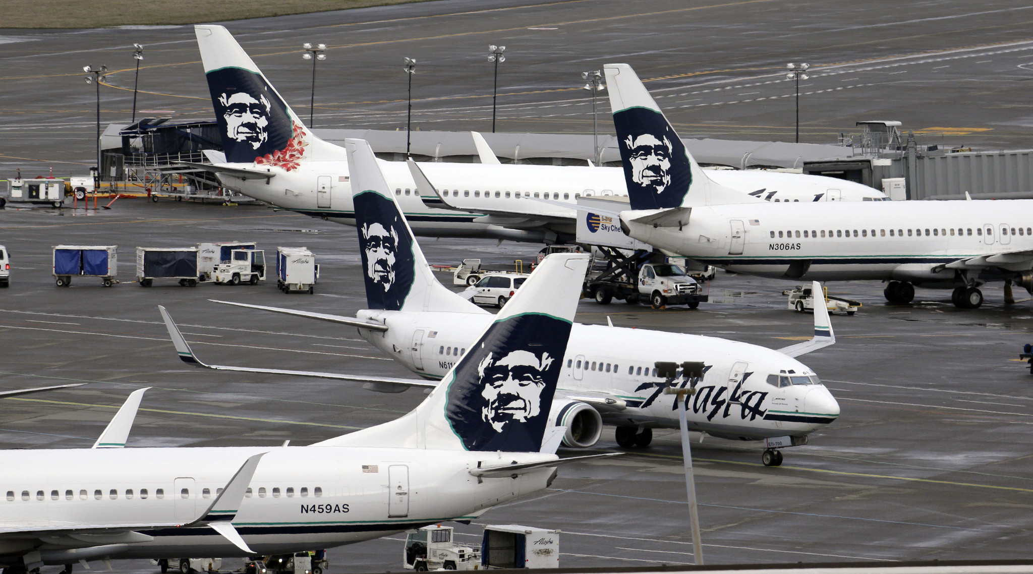 Former Alaska Airlines Pilot Charged With Flying While
