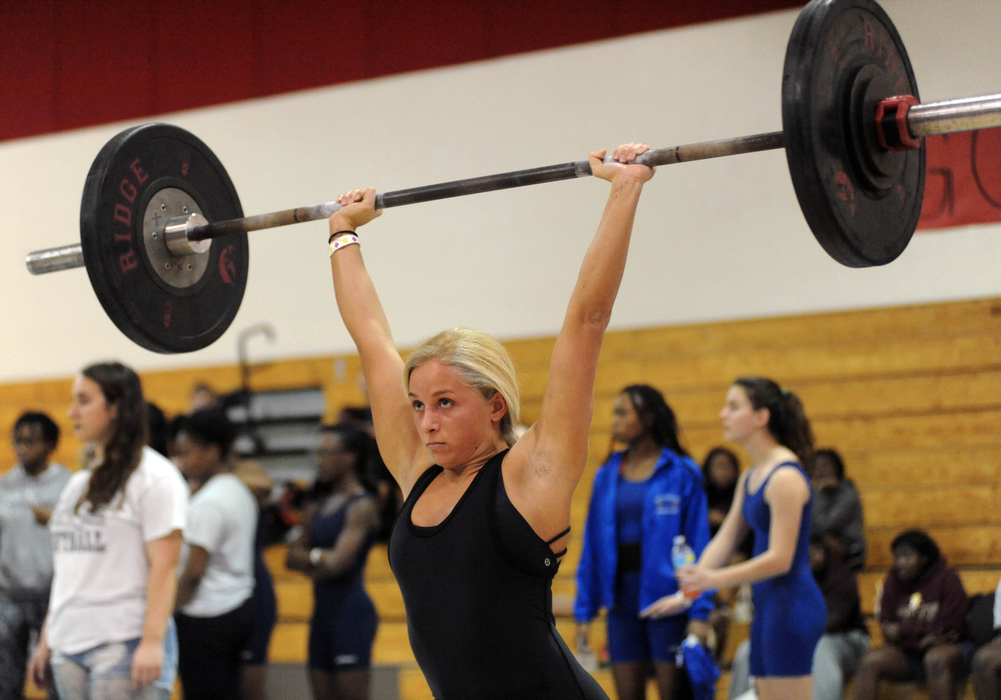 Girls Region 7 2a Weightlifting Sun Sentinel
