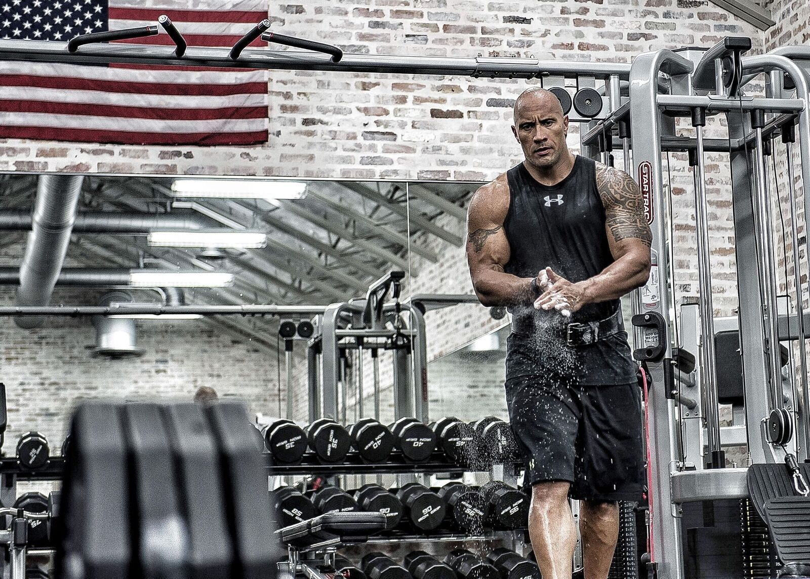It S Rock Solid Dwayne Johnson Teams With Under Armour Baltimore Sun