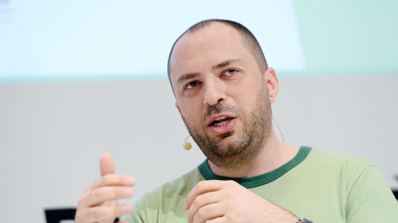 WhatsApp chief Jan Koum is shown in Munich, Germany, on Jan. 18.