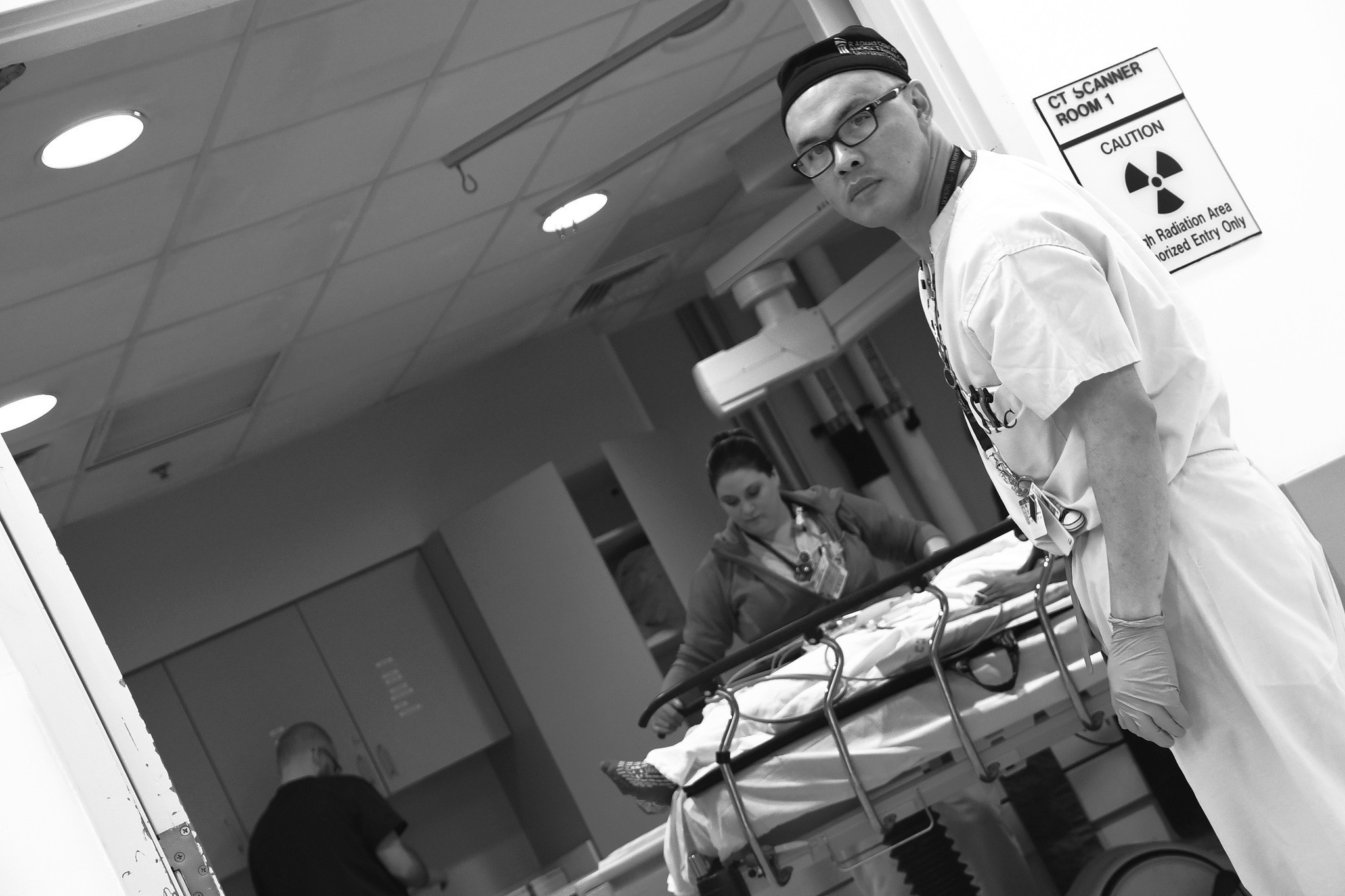 Stakes Are High: The night shift in shock trauma
