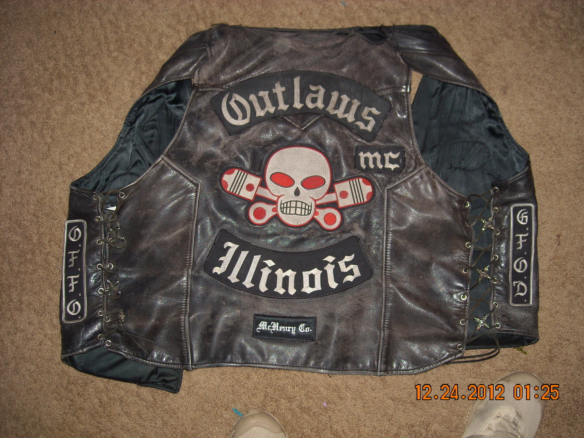 List of Synonyms and Antonyms of the Word: outlaw mc clothing