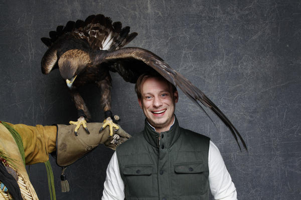"""Director Otto J. Bell of the film """"The Eagle Huntress."""" (Jay L. Clendenin / Los Angeles Times)"""