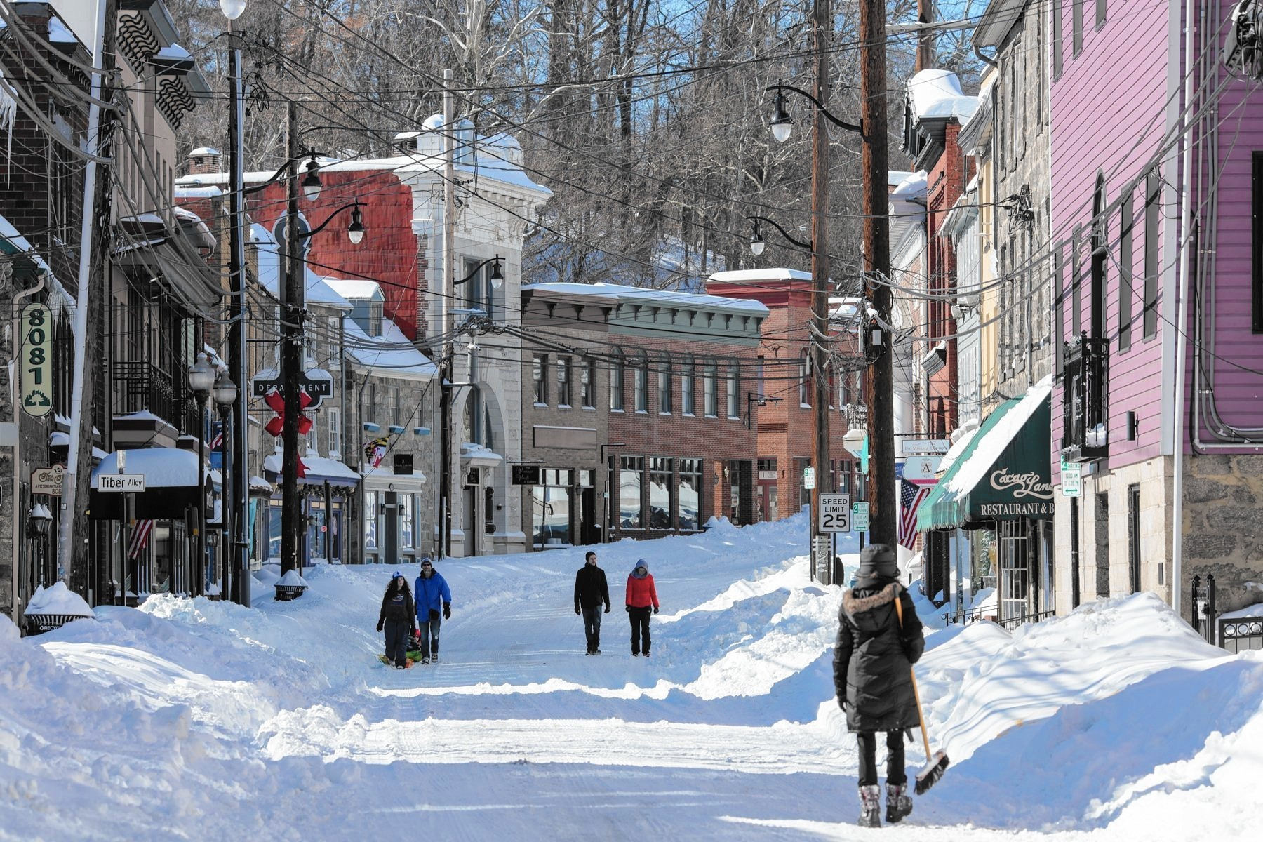 After delays in snow clean-up, some Main Street businesses ...