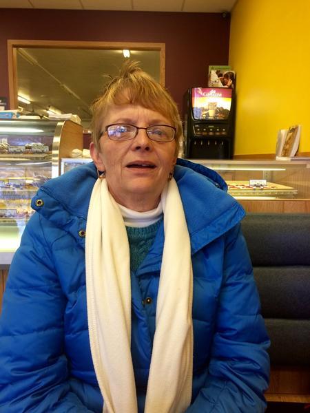 Orange City, Iowa, resident Joanne Niezen (Mark Z. Barabak / Los Angeles Times)
