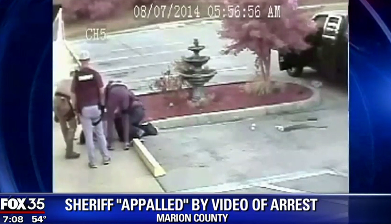 Marion County Sheriff appalled by video of arrest - Orlando Sentinel