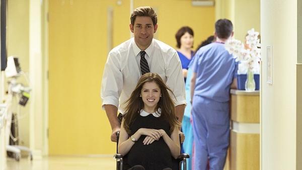 "John Krasinski and Anna Kendrick star in Krasinski's ""The Hollars."" (Sundance Film Festival)"