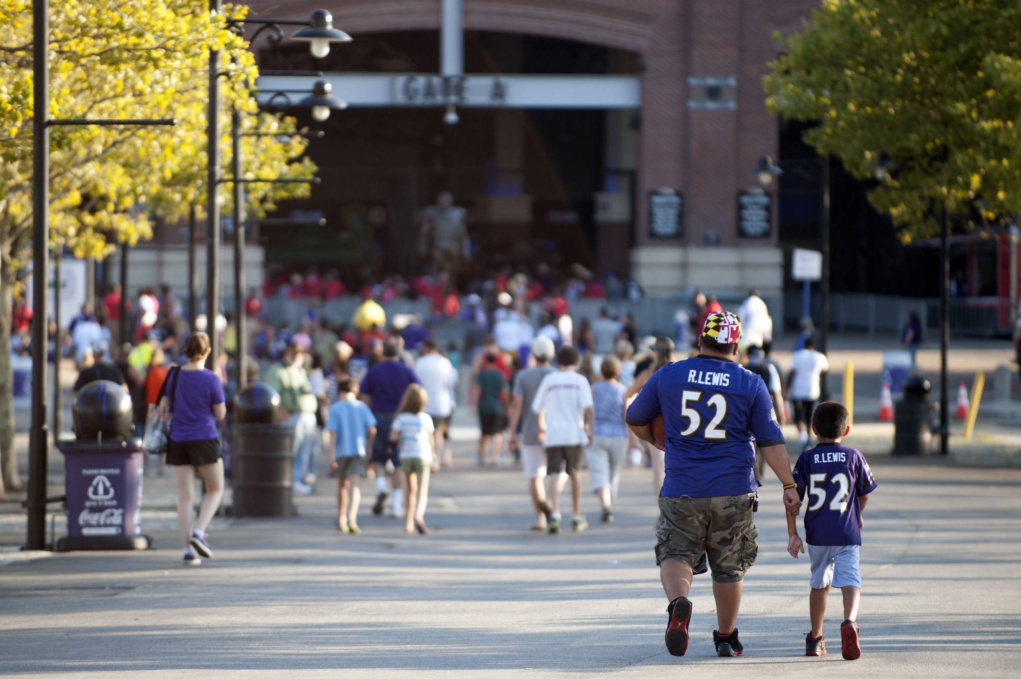 e8043a7a M&T Bank Stadium ranked second-best gameday experience in NFL ...