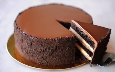 Proof Bakery Chocolate Espresso Layer Cake