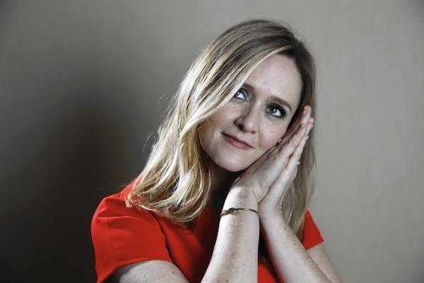 Samantha Bee likes her sarcasm strong and loud.