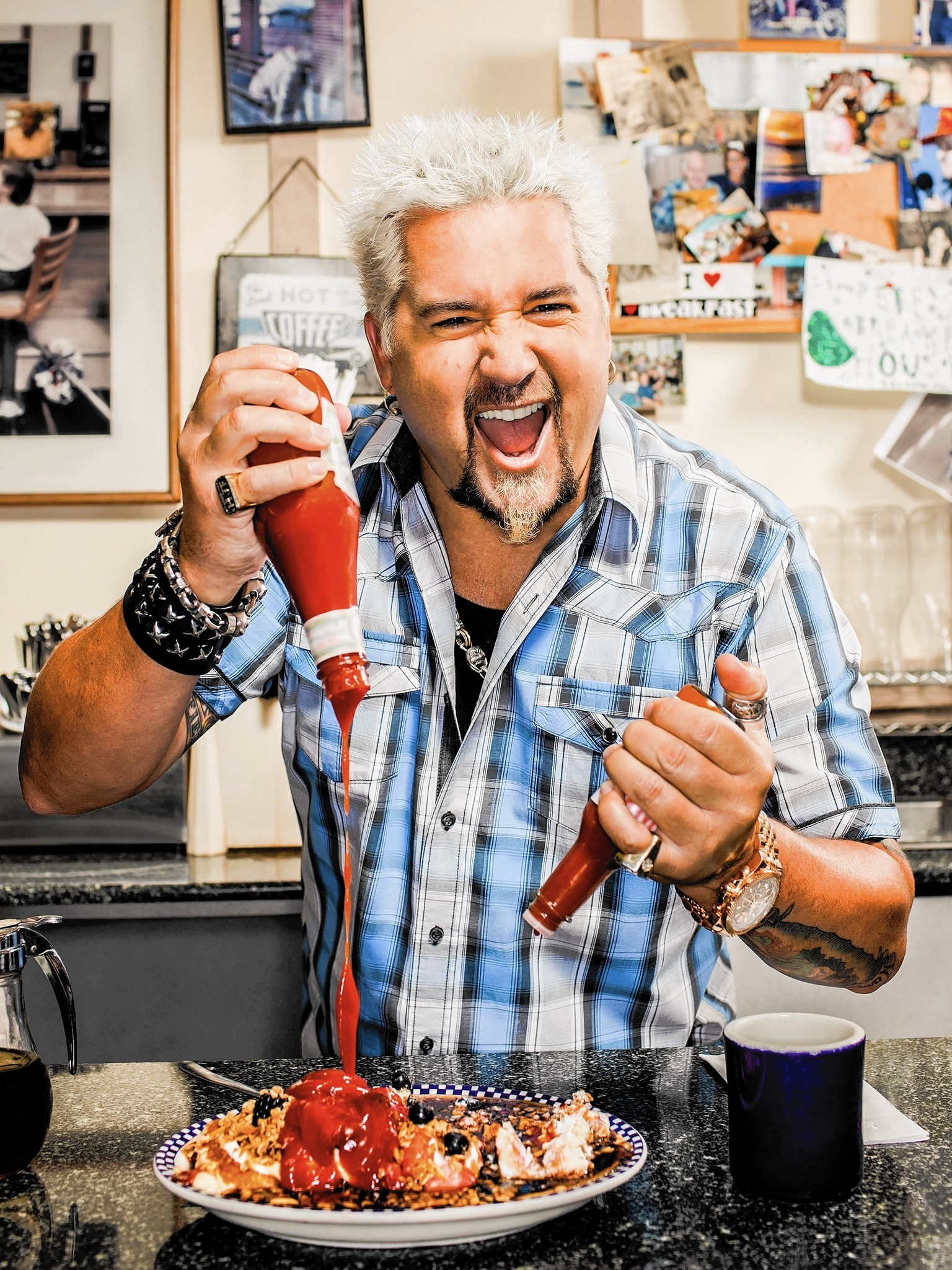 In Honor Of Guy Fieri S Visit We Salute Local Diners