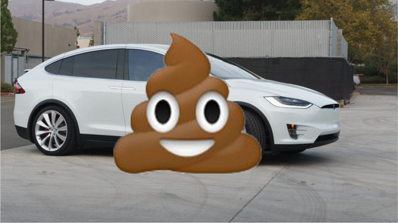 Who Pooped On This Chicago Man S Tesla Redeye Chicago