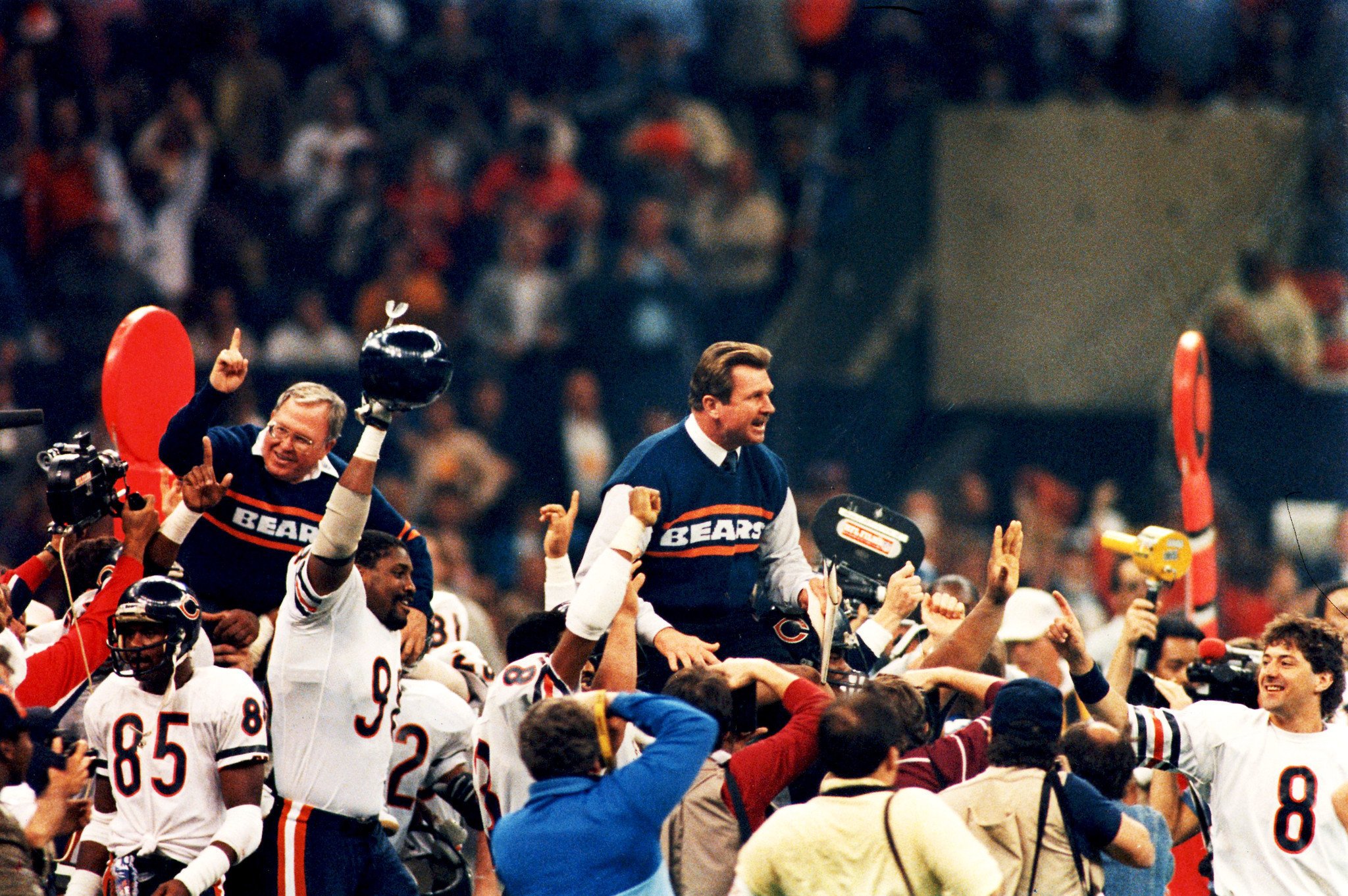 super bowl 20 photos bears win bowl xx on jan 26 1986 chicago 29824