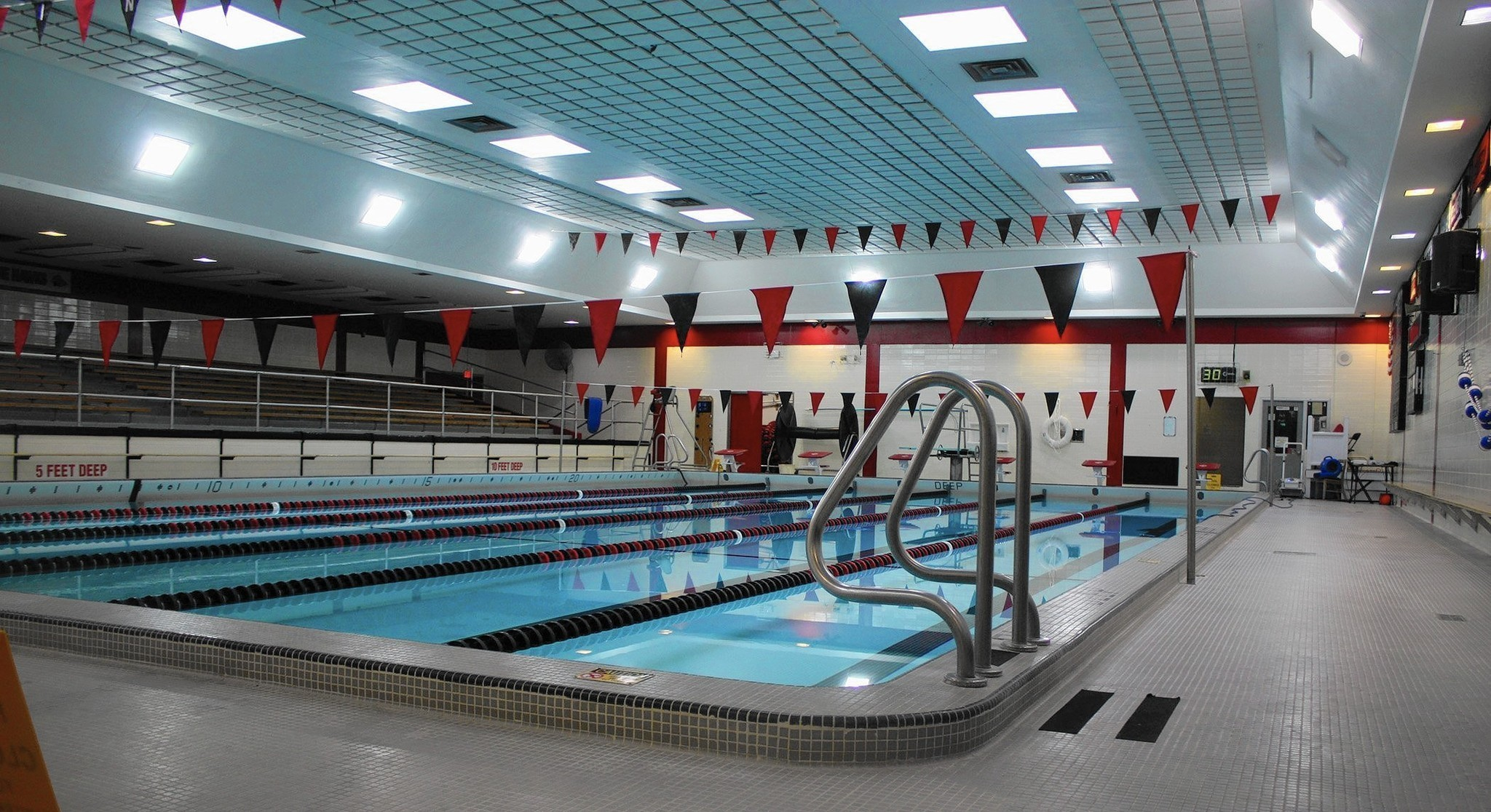 Maine south boys swimmers raise health concerns about school pool park ridge herald advocate for Public swimming pools locations maine